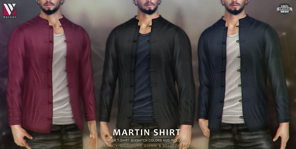 Volvér  - Martin Shirt