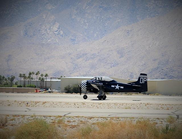 T-28C Trojan Taking Off at PSP