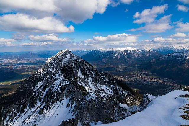 Aufblick vom Gipfel des Zwiesel - 03