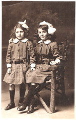 Two Sisters in London in 1918