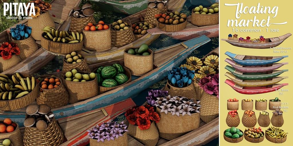 Pitaya – Floating Market @ The Arcade