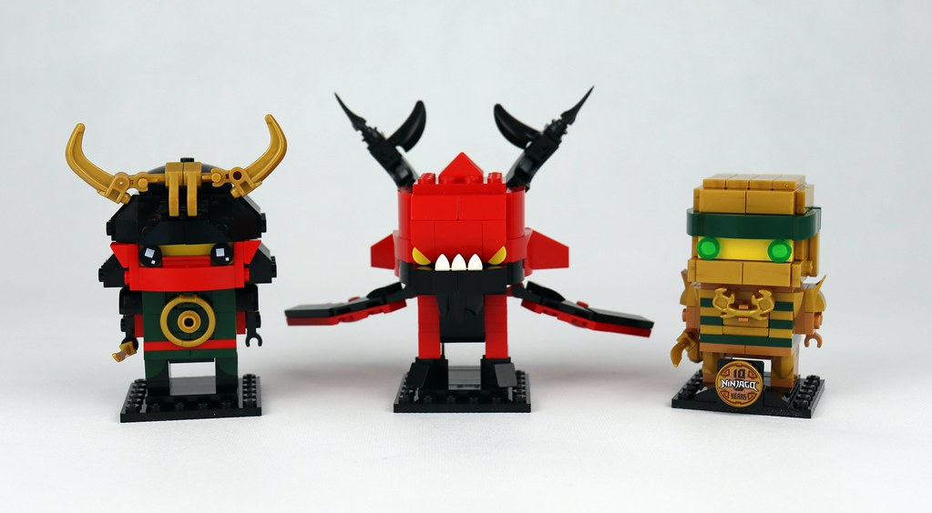 40490 Ninjago 10th Anniversary BrickHeadz (1)