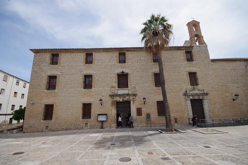 Portada del Palacio de los Condes de Villardompardo en Jaén