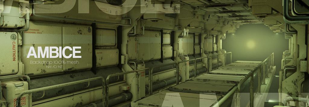 [AMBICE] - Navy Backdrop vendor