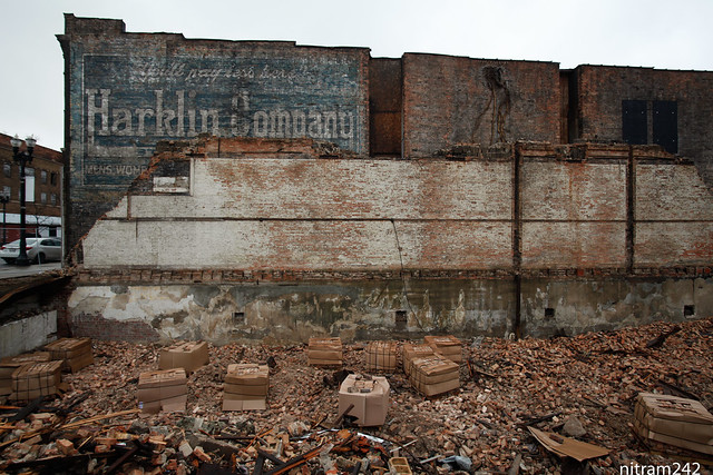 Gary Indiana Shopping Ghost Sign Back To Life