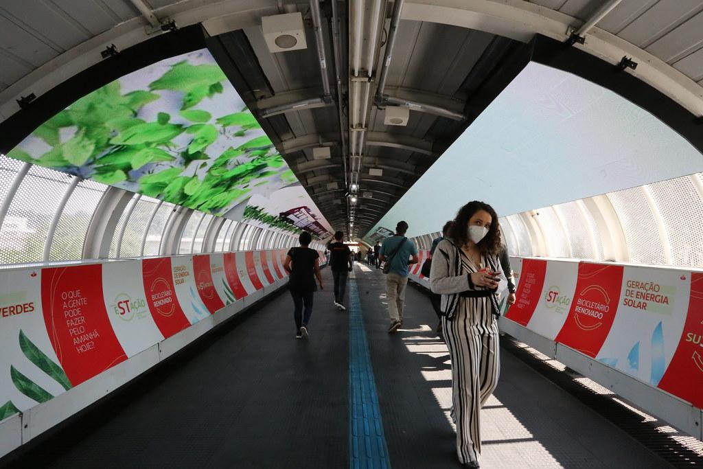 Inauguração da Estação CPTM Vila Olímpia Sustentável