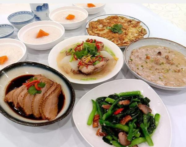 teochew porridge set A for 4