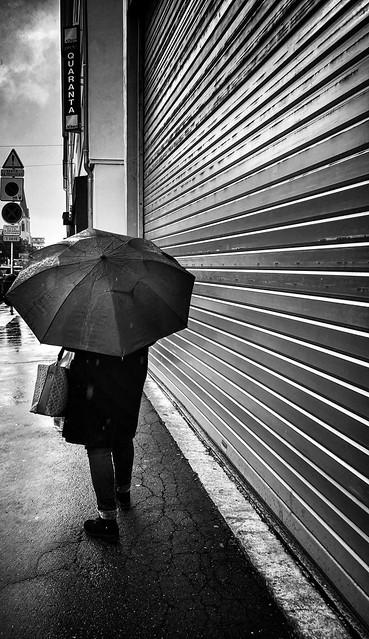 Friendship is an umbrella