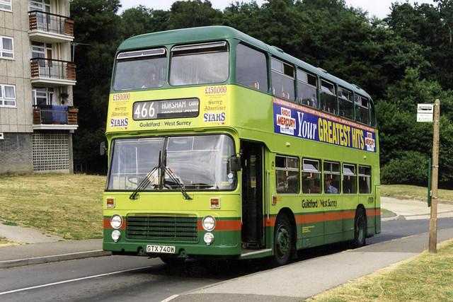 London & Country Horsham Buses 4740 Dorking Goodwyns