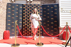 Filmmaker Kelsey Landon of 'Dying Breed' at the Focus On New Mexico Filmmaker Spotlight 2021 - IMG_0479