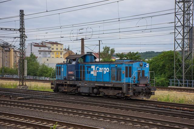 A morning at Praha Liben