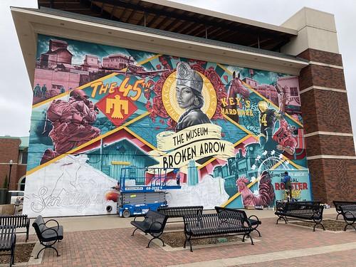 Broken Arrow Museum Mural