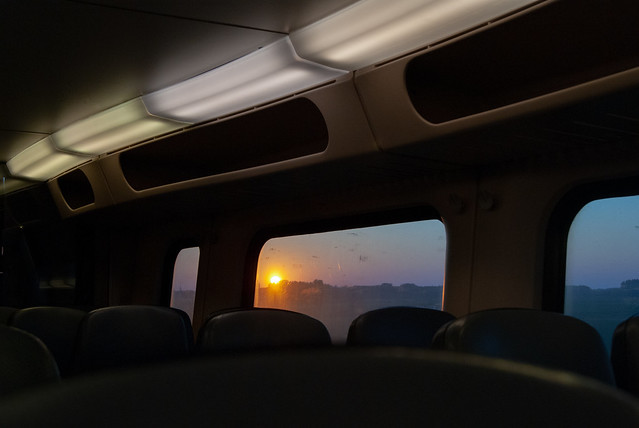 The ride back home