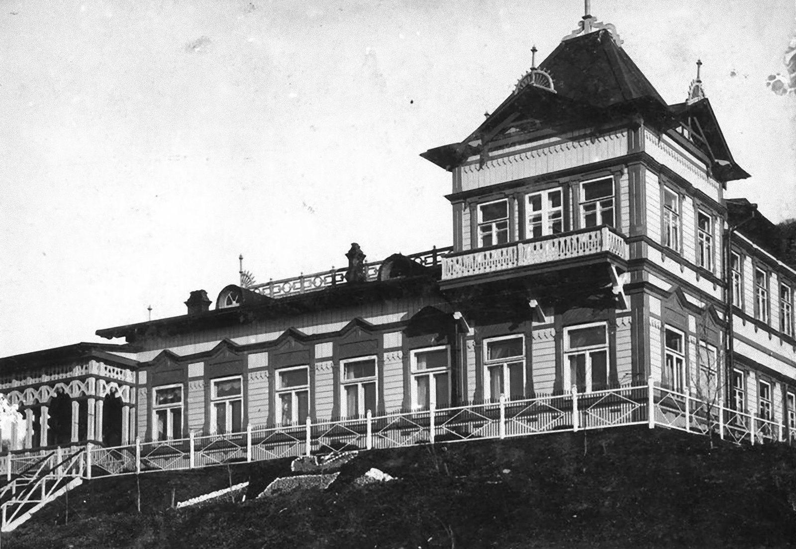 1912. Здание Губернской Канцелярии