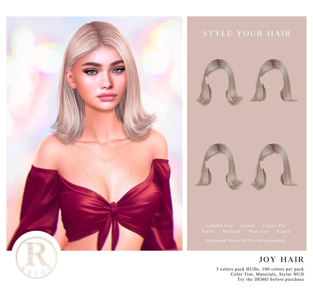RAMA.SALON – Joy Hair @LEVEL