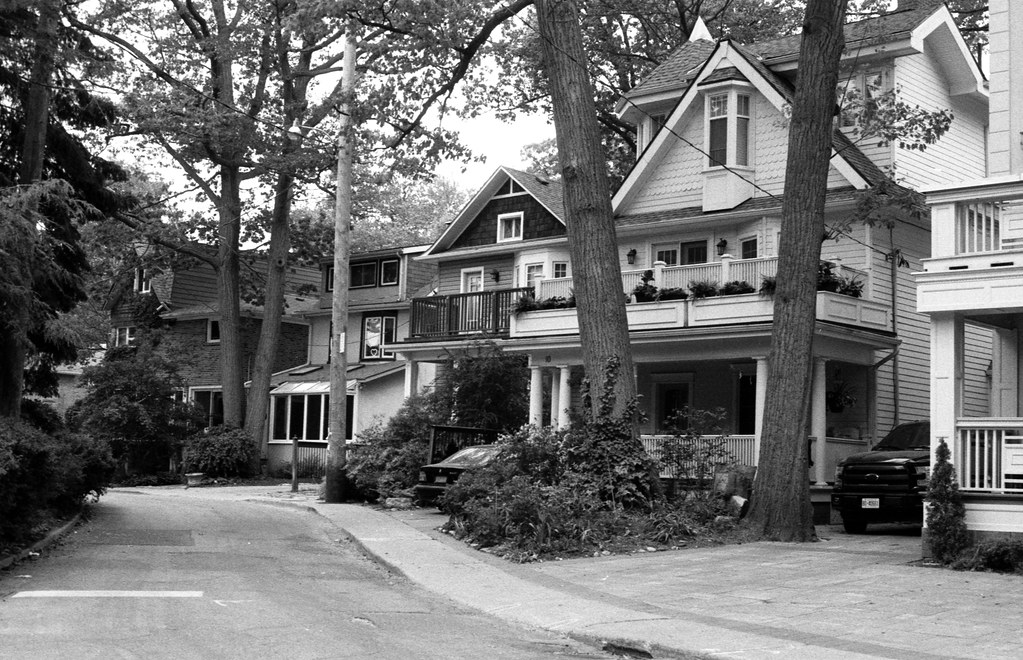 Favourite Side Street in the Beaches_