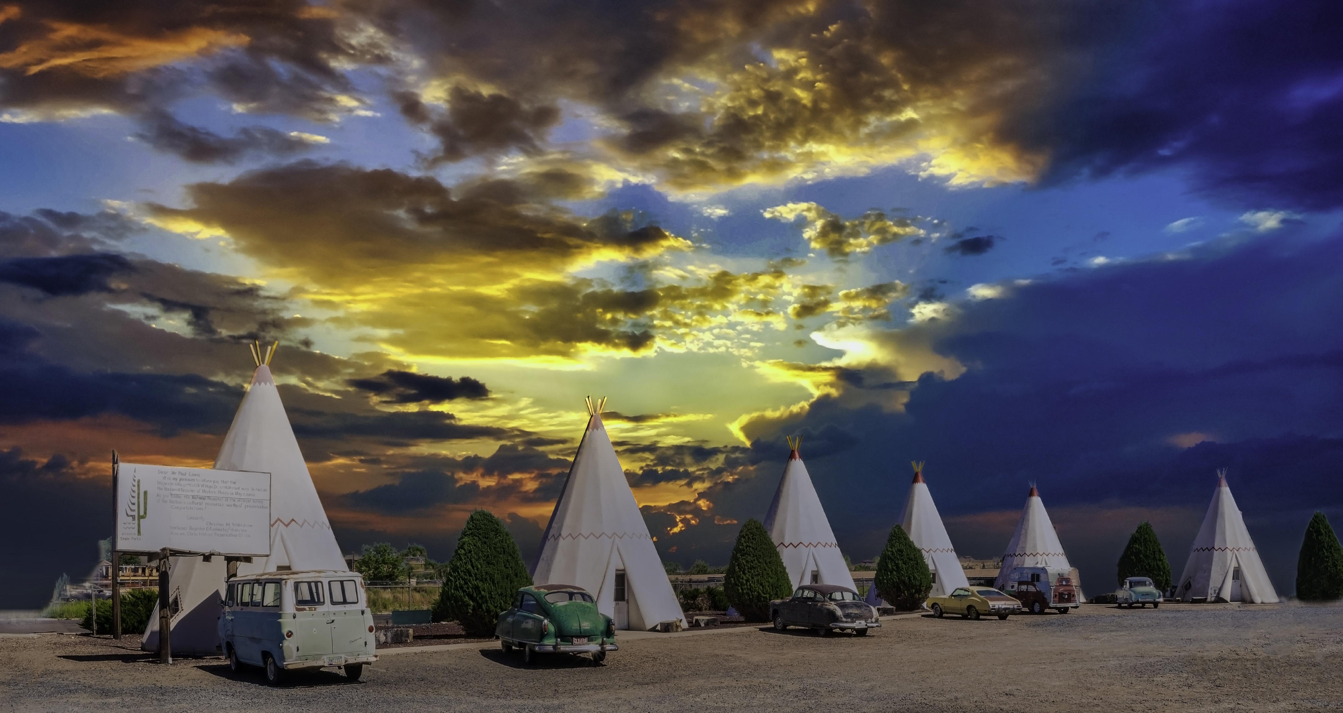 Wigwam Motel No. 6 – 811 West Hopi Drive, Holbrook, Arizona U.S.A. - May 28, 2018