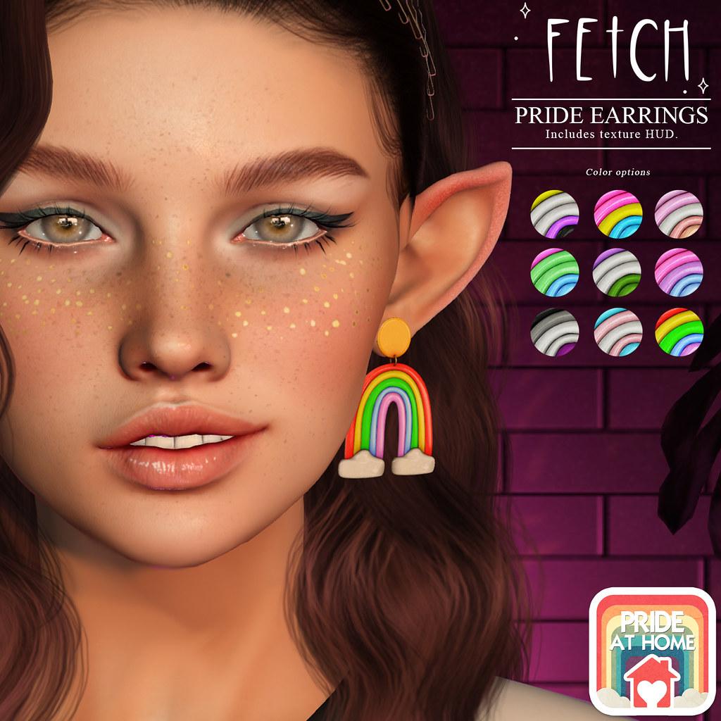 [Fetch] Pride Earrings @ Pride@Home!