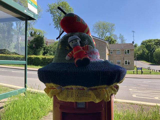 Key Worker Postbox Topper, Hemel Hempstead 2021