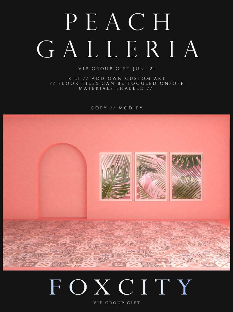 FOXCITY. VIP Photo Booth – Peach Galleria