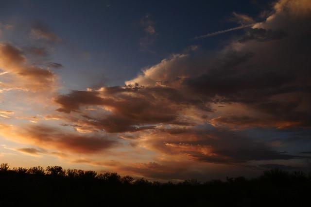 Late Spring Desert Sunset