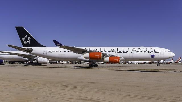 OY-KBM_MZJ_Parked_SK_A340_313_X_Star_Alliance_Astrid_Viking