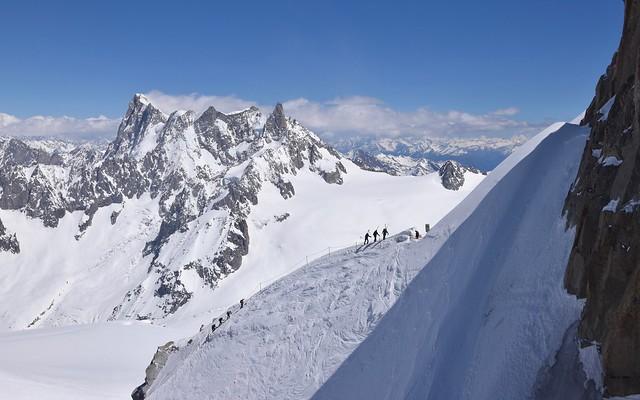 Pente raide - Steep ridge