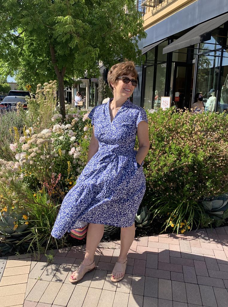 Poplin dress wc