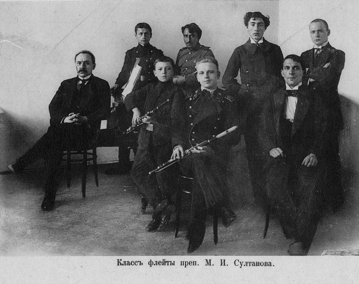 29. Класс флейты преп. М.И. Султанова