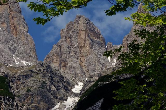 ITALIEN, Italy,   Richtung Brenta-Gebirge (-Dolomiten) zum Croz dell' Altissimo, 79076/13729