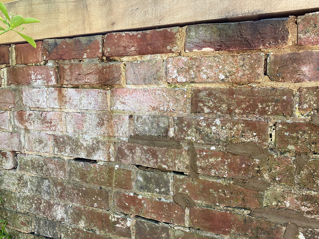 Unrepaired wall