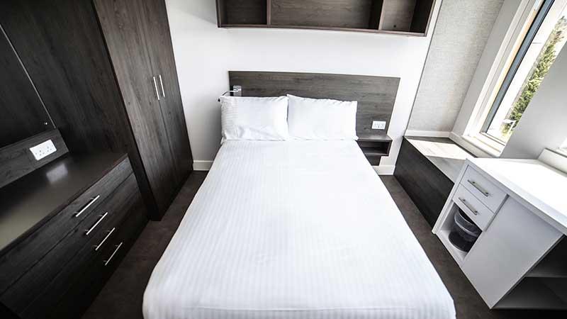 A bedroom in Polden.