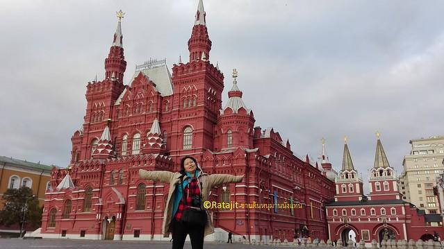 จตุรัสแดง Red Square โดยรตจิตร