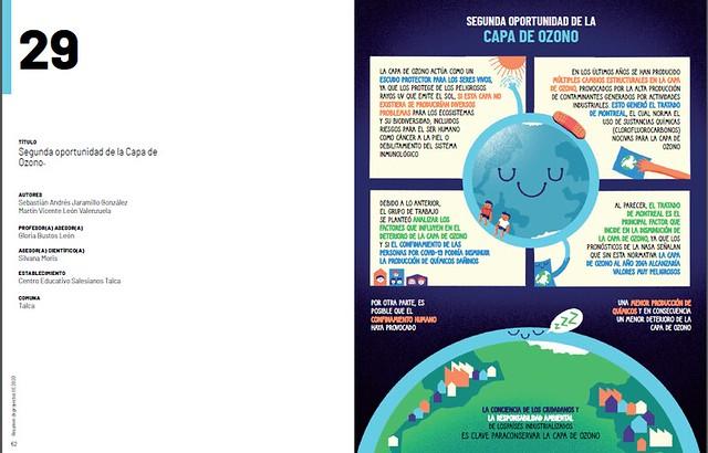 Proyectos Ciencias alumnos CEST en Revista Explora