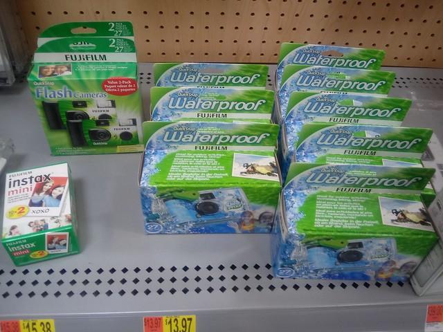Fujifilm Disposable Cameras found at Walmart