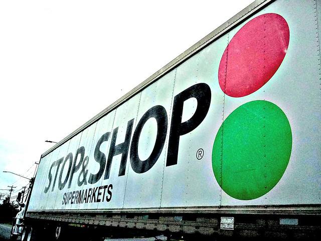 Older Stop & Shop Commercial Truck