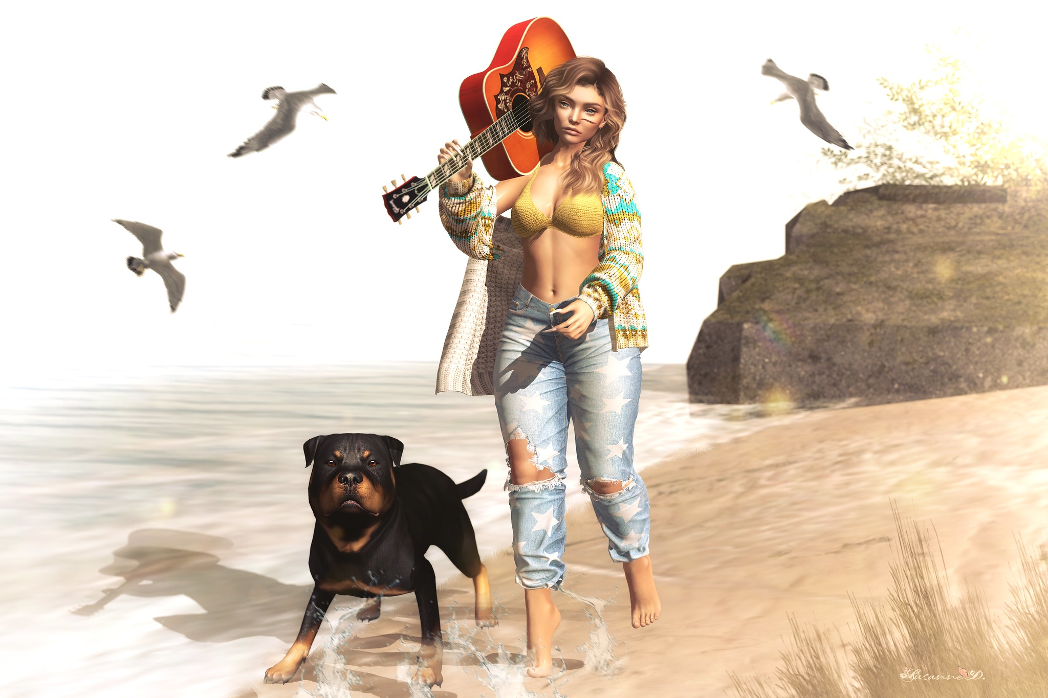 Ofra - Walk on the beach