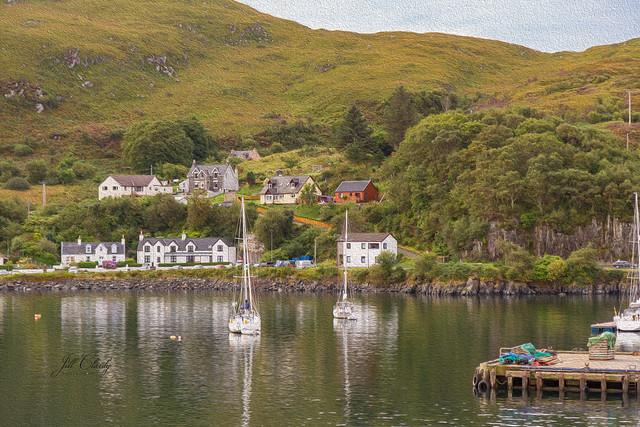 Armchair Traveling - Ferry Port of Mallaig, Scotland