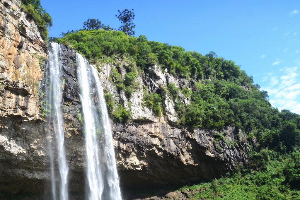 Descendo a cascata