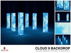 NEW! Cloud 9 Backdrop @ LEVEL
