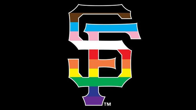 彩虹版舊金山巨人。(圖/巨人推特)