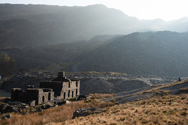 Ty Llyn at Cwmorthin - as seen in the Daily Post