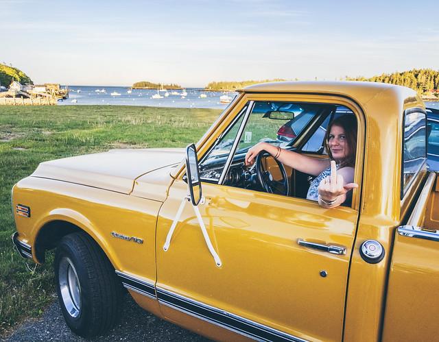 Sometimes I take one shot too many... | Tenants Harbor Maine
