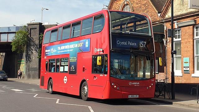 Arriva London T103 (LJ59 LZC) Selhurst 2/6/21