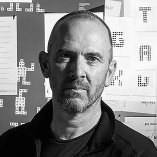 Jim Sutherland [Square crop]. Portrait by Philip Sayer.