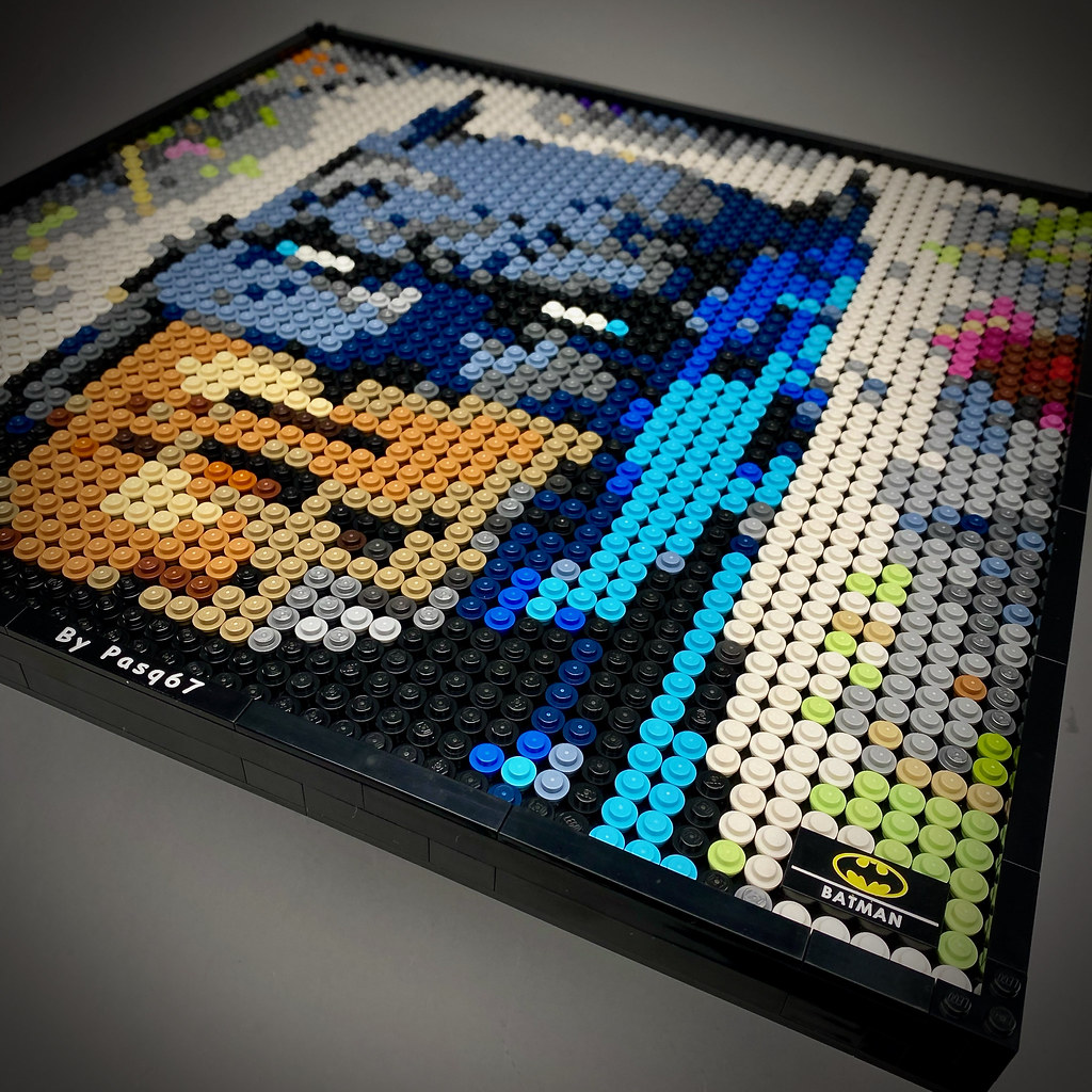 Lego Art Batman