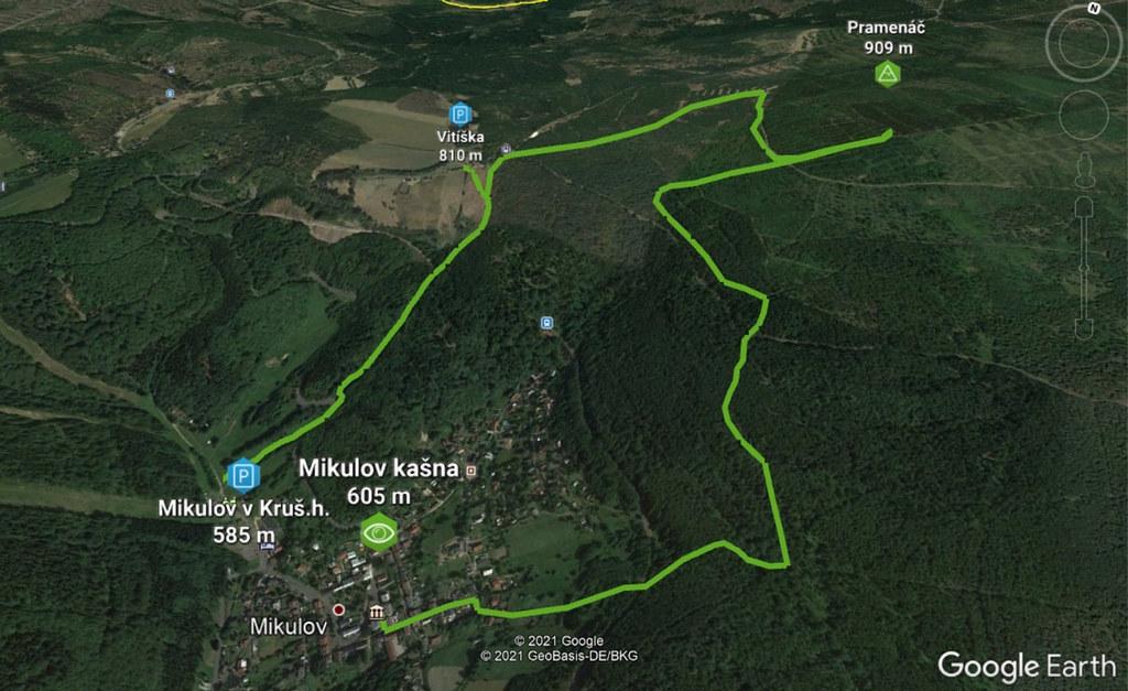 Pramenáč - Křížová Krušné hory Tschechien foto 01