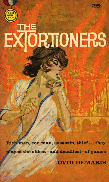 Gold Medal Books 960 - Ovid Demaris - The Extortioners