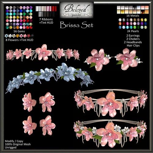 Beloved Jewelry : Brissa Set
