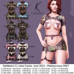 Kaithleen's G.I.Jane Gacha Poster sl